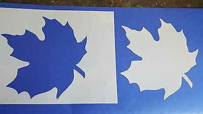 Schablone 344 Ahorn Wandtattoo Stencil Wandbilder Airbrush Wanddekoration Mylar
