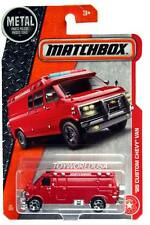 2017 Matchbox #87 '95 Custom Chevy Van with spare tire