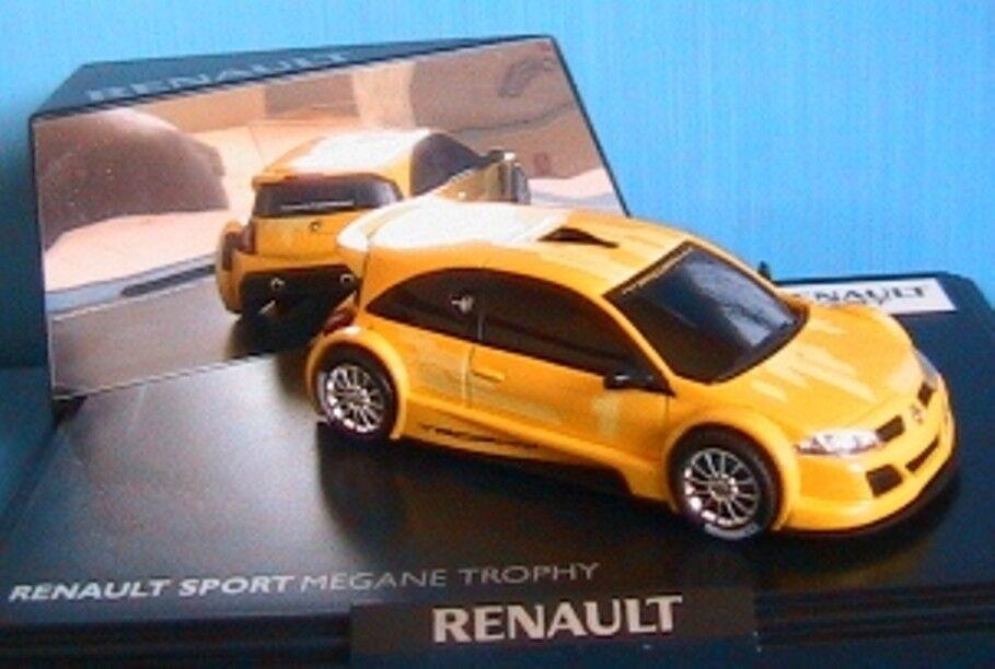 RENAULT MEGANE SPORT RS 2004 TROPHY MONDIAL JAUNE 1 43 NOREV   7711230371