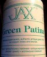 16 Oz Jax Green Patina Permanent Antique Green Finish On Copper, Brass & Bronze