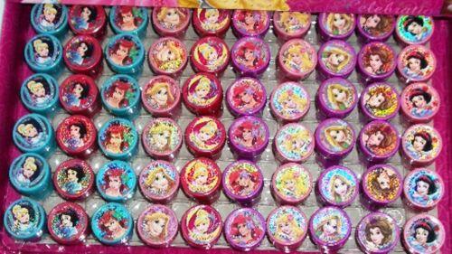 Disney Princesses Self Inking Stamper Pencil Topper Girls Party Favor Bag Filler