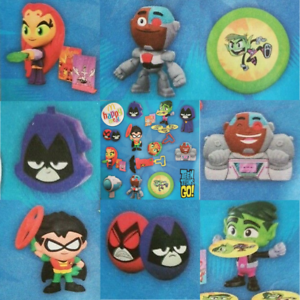 Details about McDonalds Happy Meal Toy 2019 UK Teen Titans Go Character  Figures - Various Toys