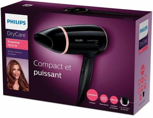 Sèche-Cheveux Philips ThermoProtect 1800W Puissant Compact Léger Coiffures Femme
