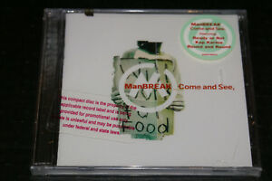 Manbreak-Come-And-See-Rare-Promo-CD-Hype-Sticker-New-Sealed-Fast-Shipping