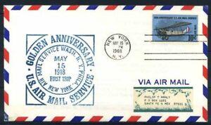 Stati-Uniti-1968-Mi-948-Busta-100