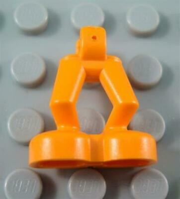 Lego ORANGE /& Gray Printed LEGS Astronaut Space Pants Harness Knee Pads NEW