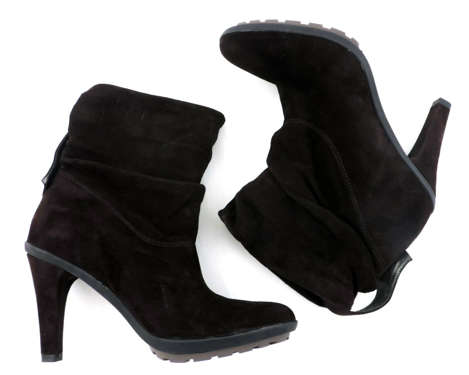 Navyboot Ankle Boot 37 Valerie Brown Suede Boots Like New