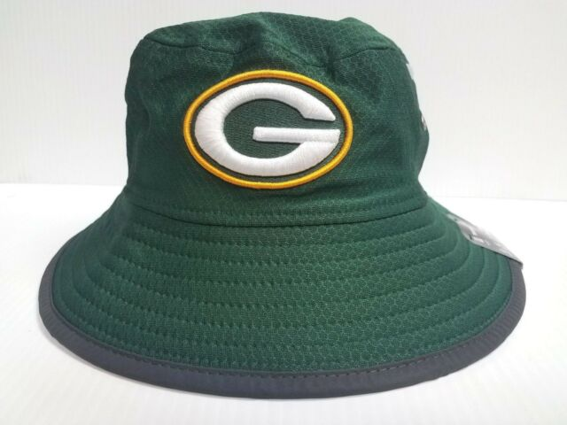 Green Bay Packers New Era Cap 2017 On Field Training Bucket Reflective Hat  NFL 2e833db1143