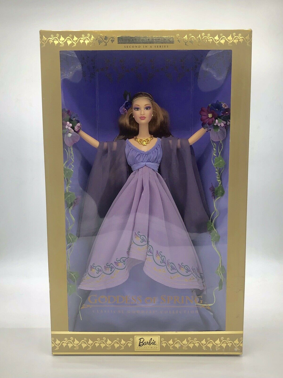 Goddess Of Spring Classical Goddess Collection MIB NRFB COA