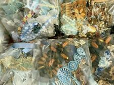Misc BEADS APPLIQUES PANEL Fringe Pieces Trim TUSCAN PEACH MULTI 1 grab bag!