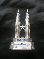 KLCC Petronas Twin Towers Kuala Lumpur Malaysia Metal Model Bottle Opener BNIB