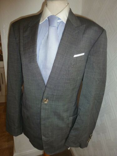 5 Costume London Italie Taille Jambe Gris Byard Smith 40 30 Hommes Veste Paul 34 Hiver aqwfpp