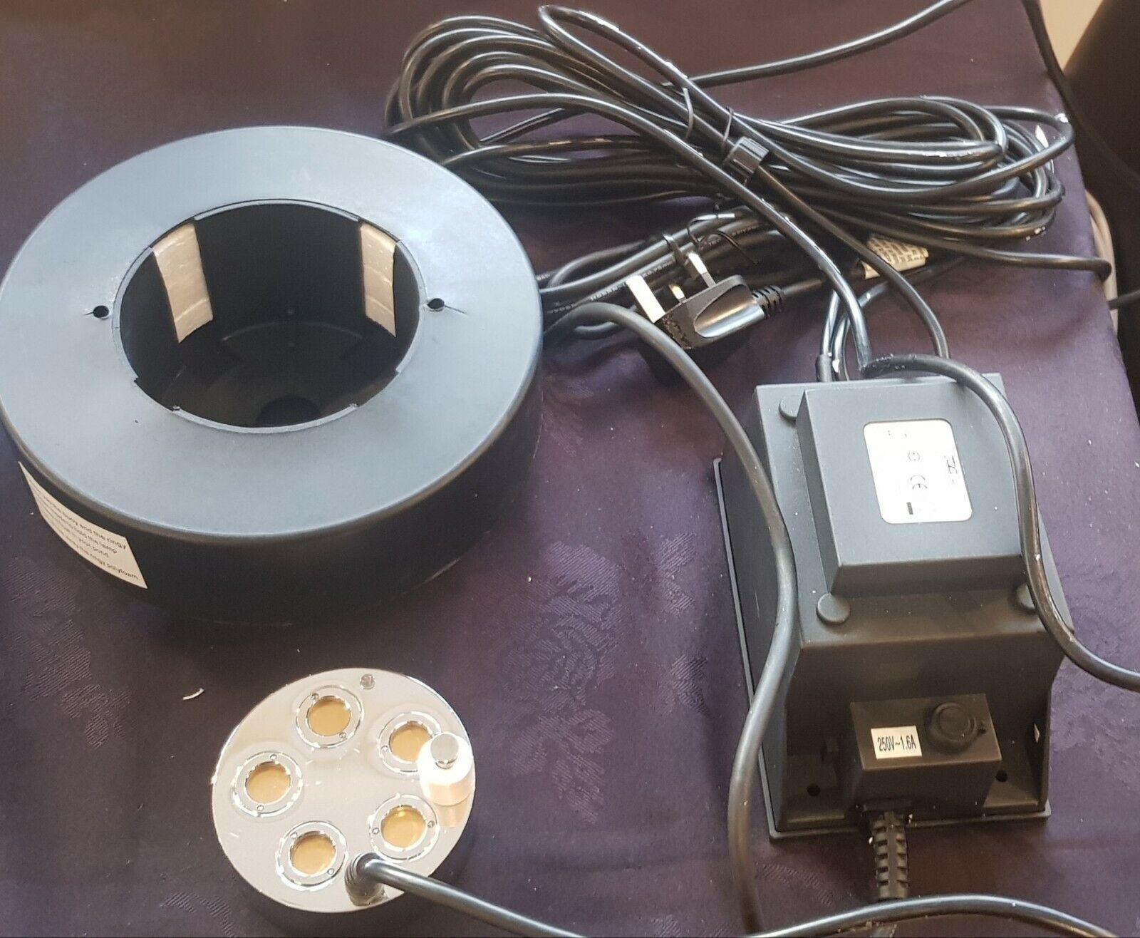 Estanque de salida de alta potencia 5 Jet agua featire Mist Maker Nebulizador