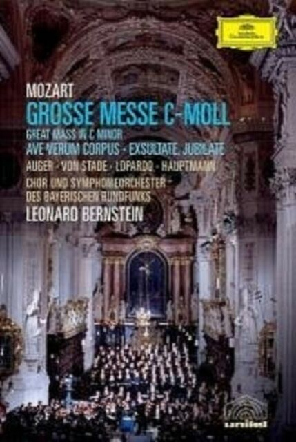 GROSSE MESSE C-MOLL KV 427 DVD NEU