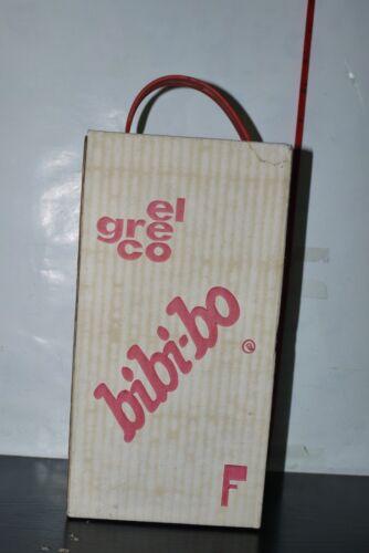 VINTAGE 80/'S BIBI-BO HAIR DRYER SALON SEAT GREEK EL GRECO MIB