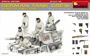 Miniart-1-35-German-Tank-Crew-in-Winter-Uniforms-Special-Edition-35249