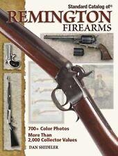 Standard Catalog of Remington Firearms by Shideler /700+color photos/2000+Values
