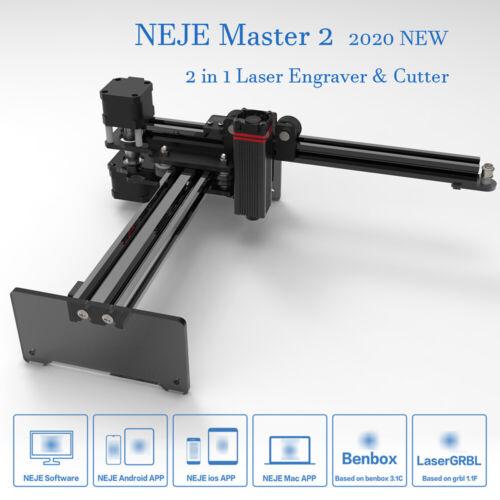 20W Lase r Engraver Carving Machine DIY Mark Printer Fast Cutting Carver E3C3