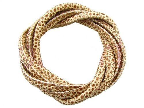 5 7 mm imitación el cordón de cuero cosido Jirafa el cordón de cuero cosido 1m la fabricación de joyas
