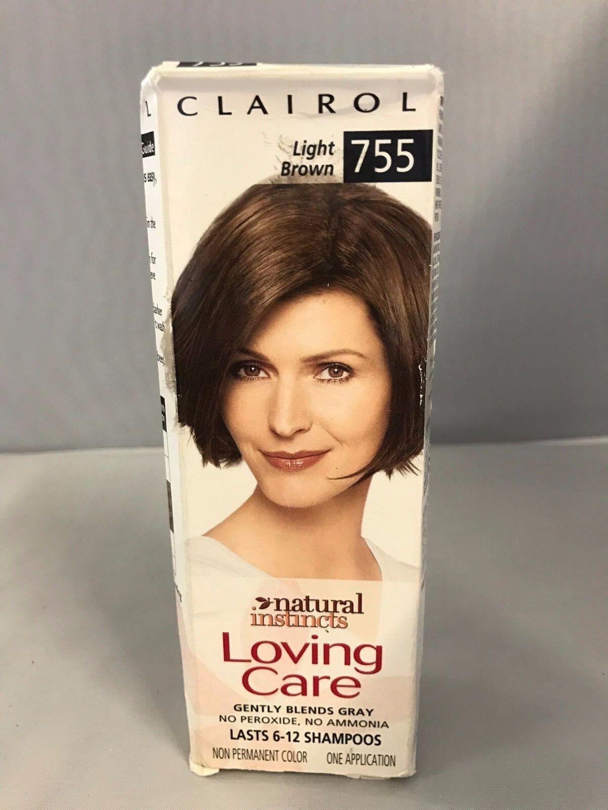 Clairol Natural Instincts Loving Care Light Brown 755 Hair Color Ebay