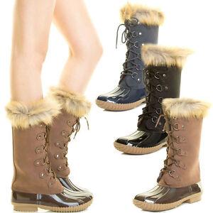 Tall duck boots women - photo#19