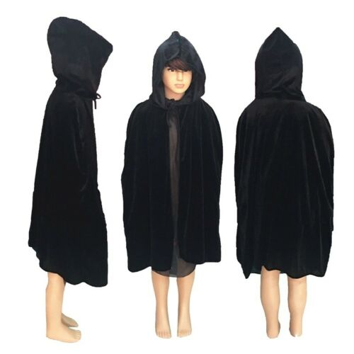 Children Kids Hooded Cape Cloak Halloween Fancy Dress Robe Party Costume Cosplay