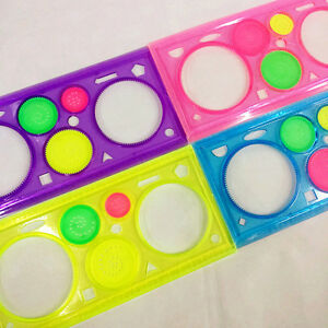 Children Spirograph Sketchpad Drawing Board Ruler Kids Educational Stationery