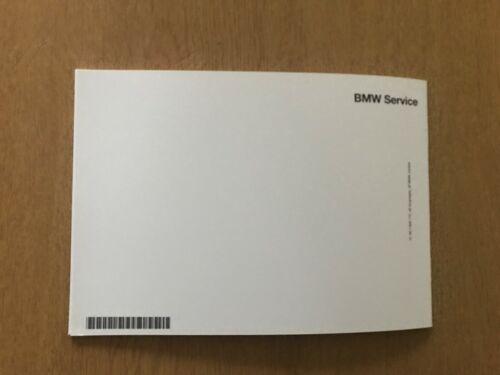 BMW SERVICE BOOK BRAND NEW GENUINE FOR ALL PETROL DIESEL BMW 1 series 2 series