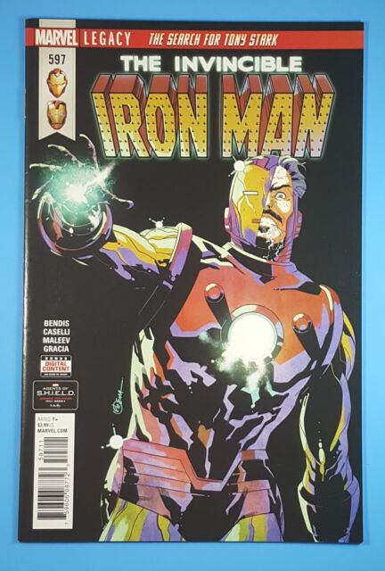 INVINCIBLE IRON MAN #12 1ST PRINTING BAGGED /& BOARDED MARVEL COMICS 2016