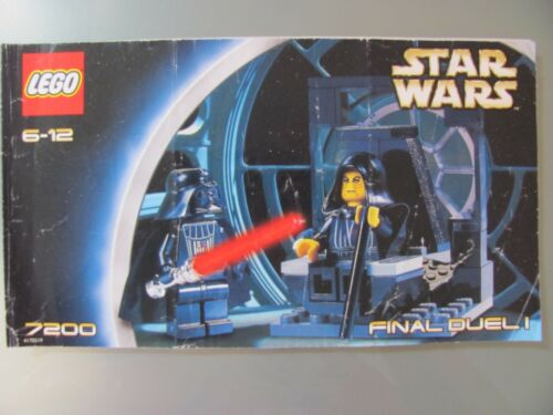 Lego 7200 @ @ leaflet//instructions booklet//Bauanleitung