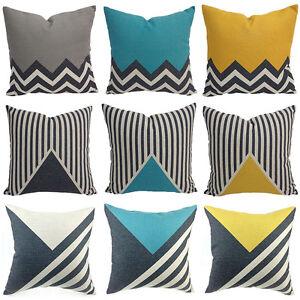 Cotton-Linen-Cushion-Cover-Sofa-Bed-Home-Decor-Throw-Geometric-Waist-Pillow-Case