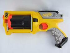 Nerf N-Strike Maverick Rev-6 Soft Foam Dart Toy Gun Dart Blaster Yellow 2004