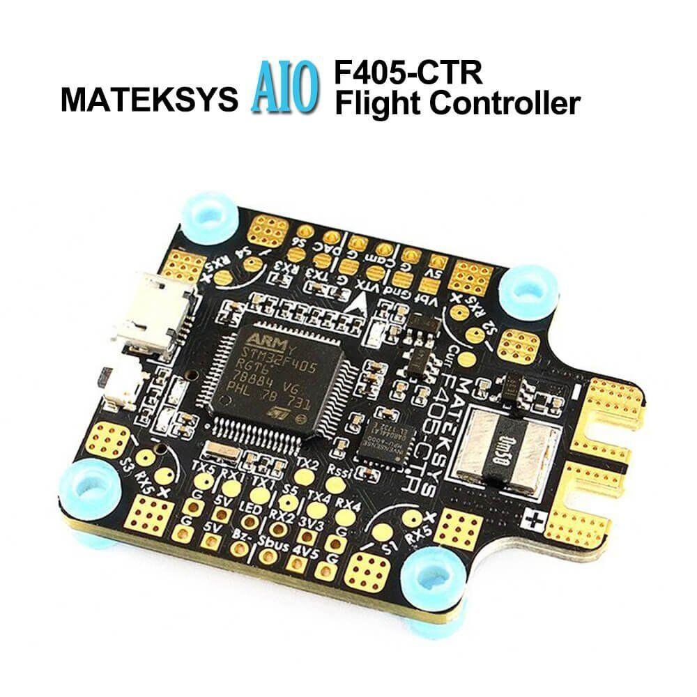 Matek AIO F4 Flight Controller  Intergreted PDB 430A , Bateflight OSD , BEC , ,