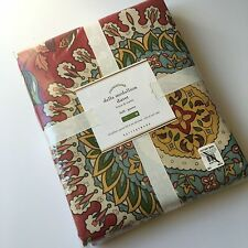 New Pottery Barn DELLA Medallion FULL QUEEN DUVET Cover NWT **FREE shipping**