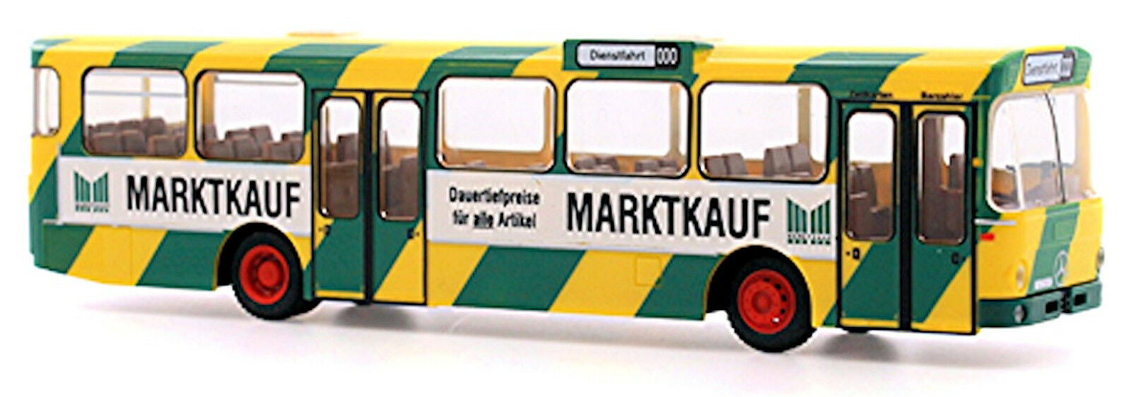 Rietze 74302 Mercedes Benz O 305 Bus RVK Köln Marktkauf Scale 1 87 NEU OVP