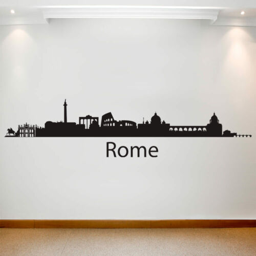 Large Wall Decal Sticker Art Removable Waterproof Vinyl Transfer Cities Rome