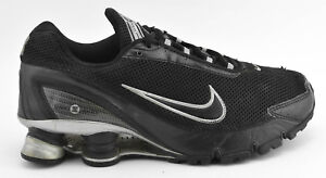 check out 5fa5c c73c0 Details about MENS NIKE SHOX TURBO + IV 2006 RUNNING SHOES BLACK SILVER  GRAY 315378 001 SIZE 7
