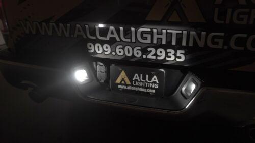 Set of 2,LED White License Plate Light Housing Unit,Silverado Truck,Tag Light