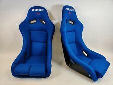 Bride Vios 3 Iii Blue Seats Low Max Jdm Bucket Drift Race Racing Seat