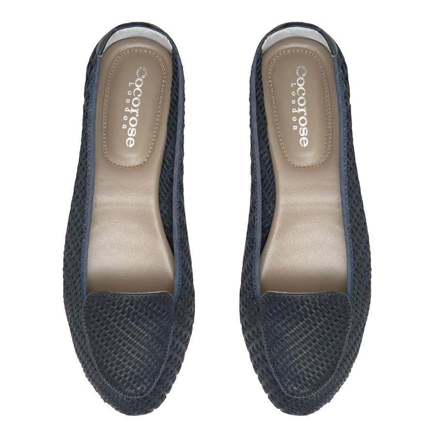Cocgoldse Foldable shoes shoes shoes - Clapham - Navy 1b5056