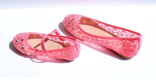 Nouveau Chaussures Enfants Enfants Balerina chaussures fille 25 26 27 28 29 30 31 32 33 34 35