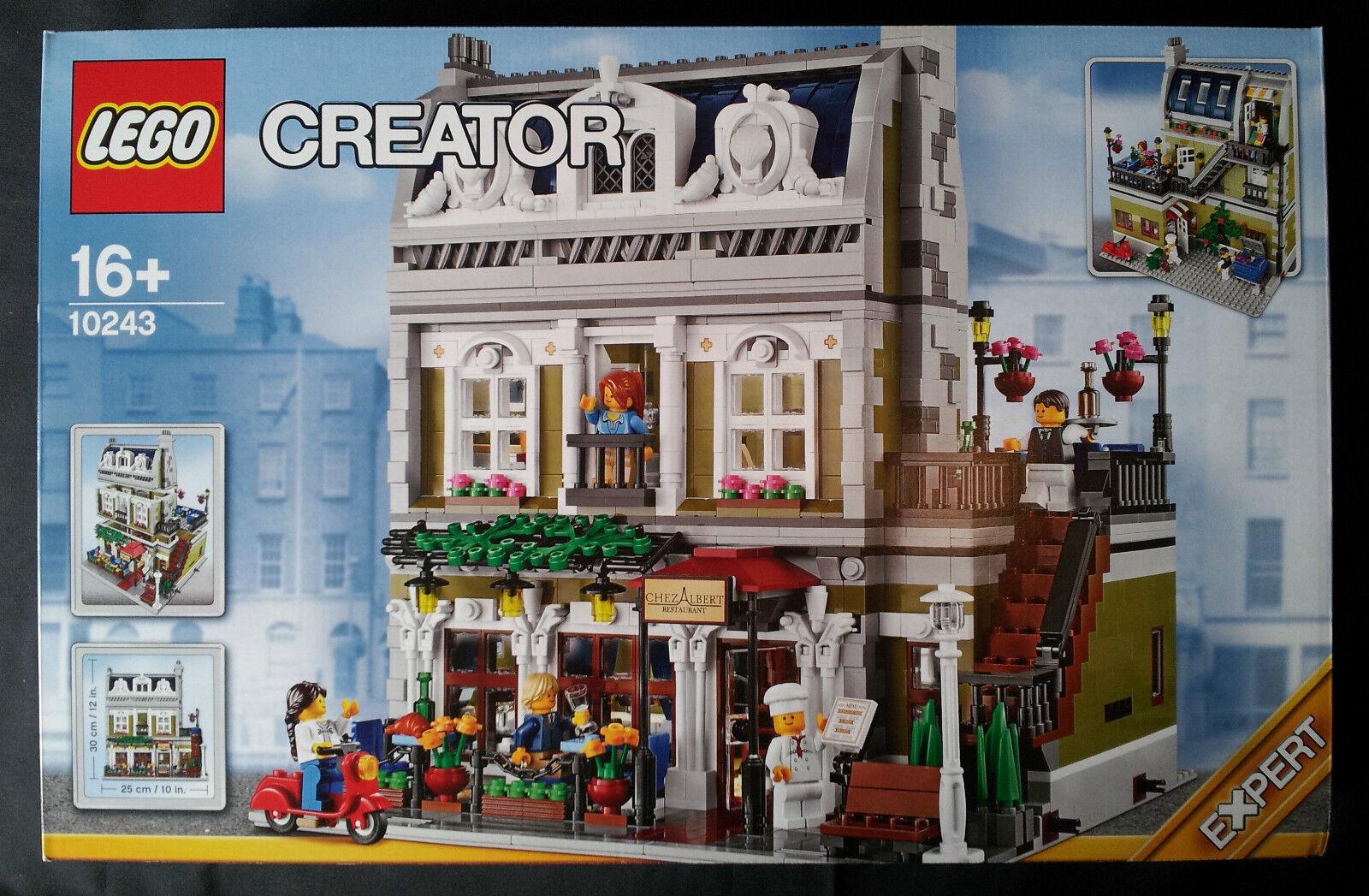 LEGO MODULAR BUILDINGS 10243 - PARISIAN RESTAURANT  NUEVO SELLADO   NEW SEALED