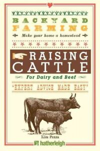 Raising-Cattle-For-Dairy-and-Beef-Paperback-by-Pezza-Kim-Brand-New-Free