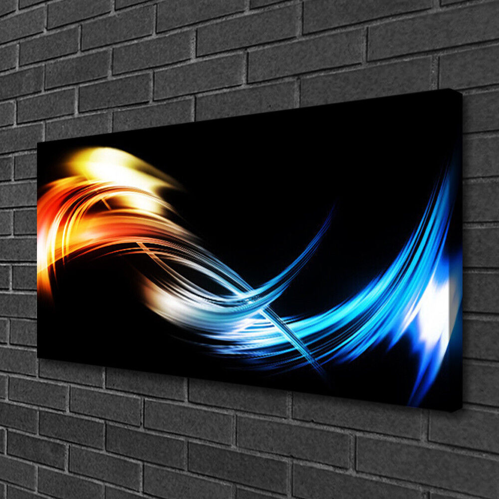 Canvas print Wall Wall Wall art on 100x50 Image Picture Abstract Art 5b89db