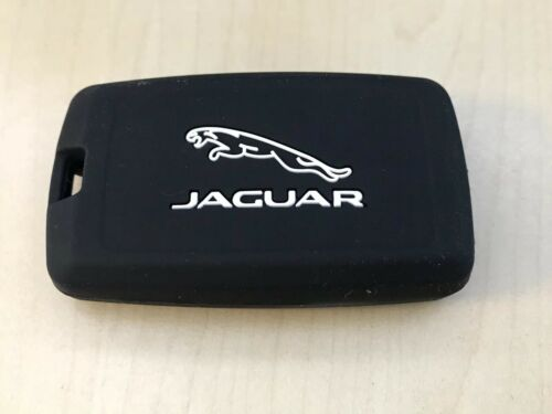 Jaguar F-Pace XF Key Cover Fob Ring Case Keys Rubber Silicone Jag Protective
