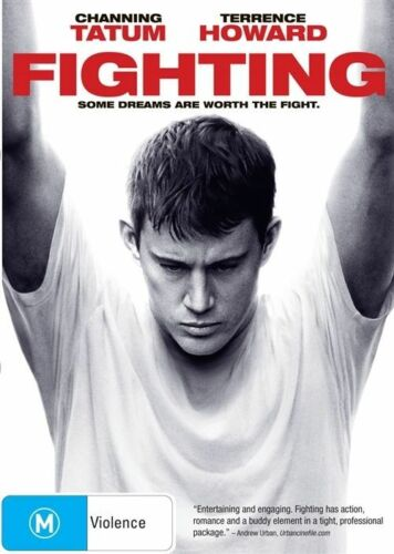 1 of 1 - Fighting (DVD, 2010) Starring Channing Tatum Brand New & Sealed Region 4