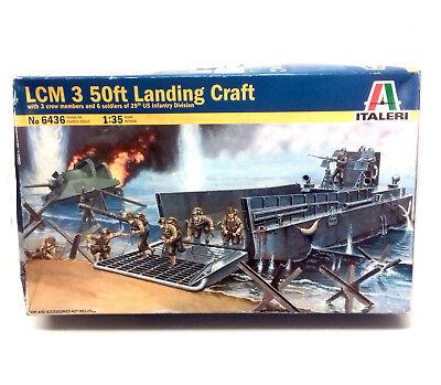 WWII USA LCM3 LANDING CRAFT D-DAY NORMANDY 1//72 diecast model LANDING BOAT FOV
