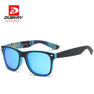 16a4f9d0d90a Image is loading DUBERY-Men-039-s-Polarized-Sunglasses-Aviation-Driving-
