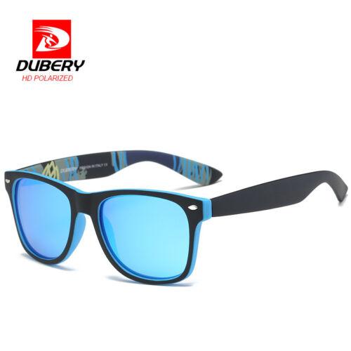 DUBERY Men/'s Polarized Sunglasses Aviation Driving Men Women Sport Glasses Hot