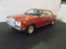 MERCEDES W123 Coupe 280 C123 E klasse red rot 1977 - 1982 Resin otto RARE 1:18